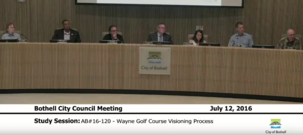 Council Study Session July 12th 2016